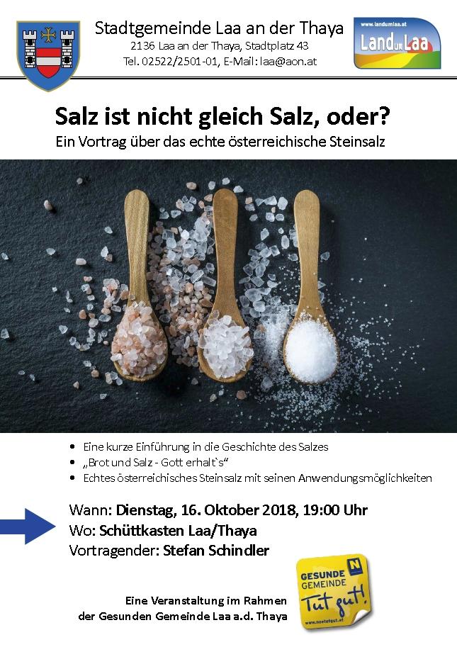 Salz ist nicht gleich Salz, oder? - Wildendürnbach - RiS-Kommunal ...
